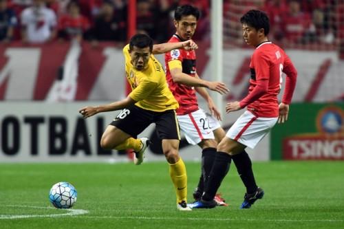 浦和が前回王者・広州恒大を下してACL今季2勝目…武藤が値千金の決勝点