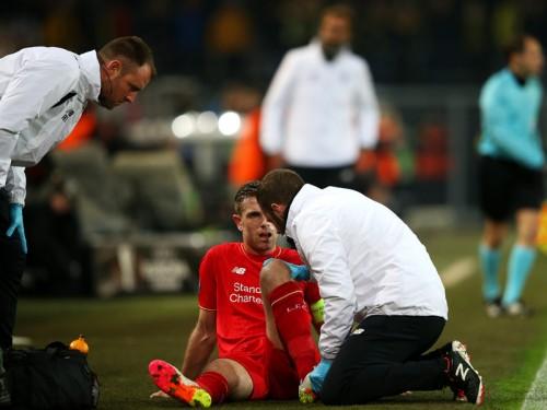 ユーロに間に合うか…リヴァプール、英代表ヘンダーソンが負傷で今季絶望