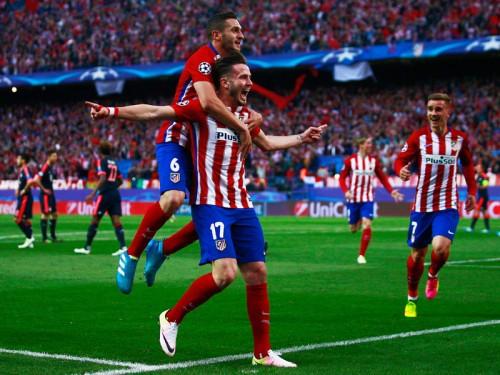 決勝弾を喜ぶアトレティコのサウール「キャリアで最も重要なゴール」