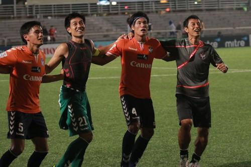 ●乾、河田、長崎のゴールでアルビレックス新潟シンガポールが5連勝