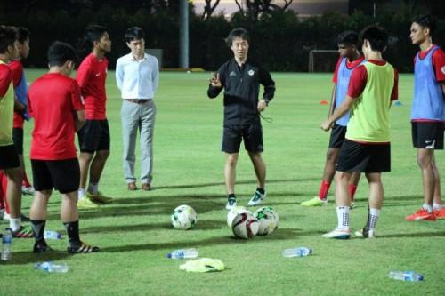 松本山雅、シンガポールでアンダー世代を指導 Jリーグ・アジア戦略の一環