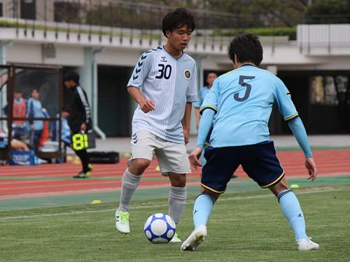 鹿島への思いを胸に…東京学芸大の俊足ルーキー色摩雄貴、2ゴール演出で初勝利に貢献