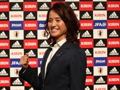 なでしこジャパンの高倉新監督が抱負「日本人にしかできないサッカーを」