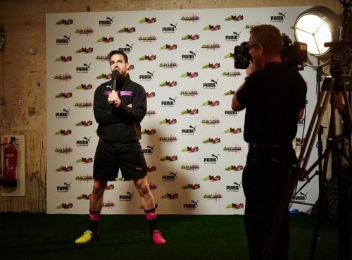 プーマが最新スパイク「トリックス」の発表イベントをロンドンで開催…セスクとファルカオが登場