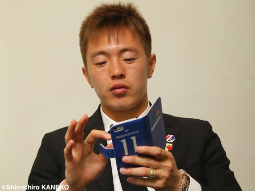 横浜FM齋藤学がインスタ開始…新規ファン獲得へ「今までと違う交流を」