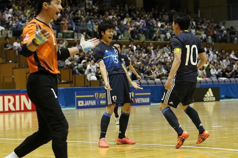 フットサル日本代表は連勝ならず...