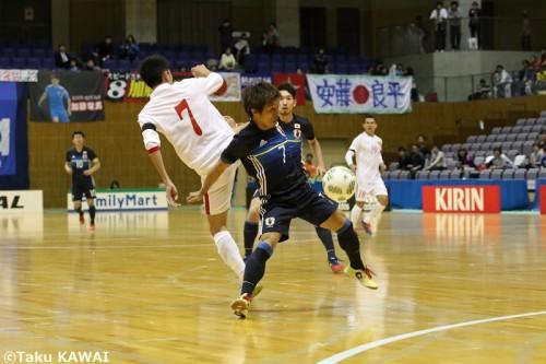 ●プレッシングの急先鋒となったFP中村友亮「不細工な試合内容でも結果を求める」