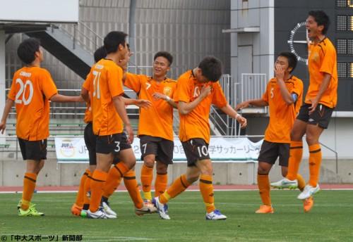 石井光、早坂翔の今季初ゴールで3発快勝…中央大が2連勝で4位に浮上