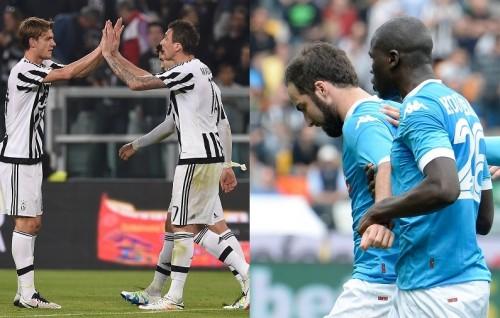 ナポリ敗北でユーヴェが5連覇に前進…ローマはダービー戦4発快勝/セリエA第31節