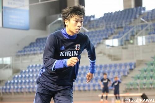 名古屋デビュー前に代表デビューを飾るか…FP安藤良平「初ゴールを決めたい」