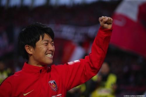 浦和FW武藤、首位に導くゴールはイメージ通り「瞬間にコースが見えた」