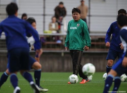 「一秒も無駄にはできない」手倉森ジャパン、3日間の静岡合宿を開始
