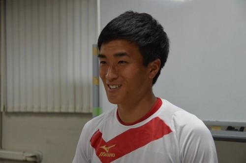 上級生としての意識を高める慶應大MF手塚朋克「身を削ってチームに貢献したい」
