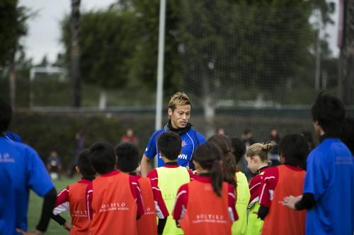 本田圭佑が6月に台湾、インドネシアでサッカークリニックを開催