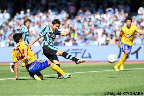 川崎、ホームで仙台と引き分け連勝ならず…首位浮上のチャンス逃す