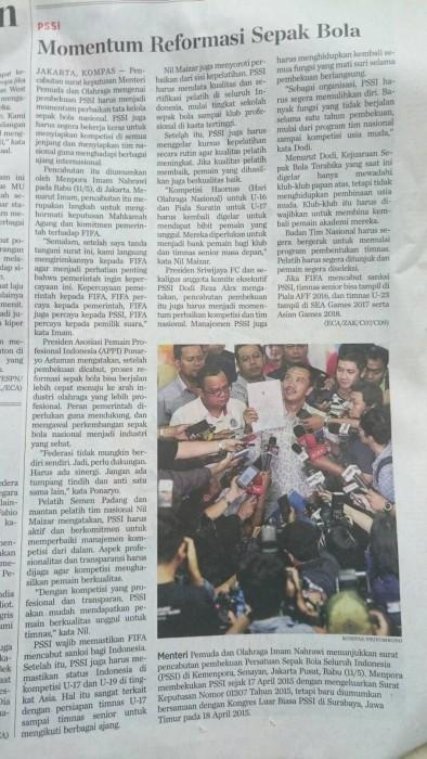 インドネシア、FIFAの制裁解除も間近か