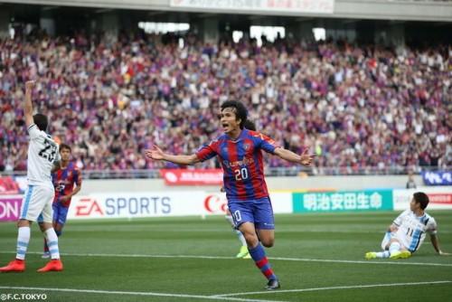 ファンへ勝利を届けたいFC東京FW前田「一つでも多く勝って喜び合いたい」