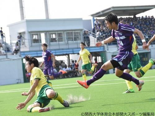 関西大、京都学園大を下して4回戦突破…リーグ首位阪南大との準々決勝へ