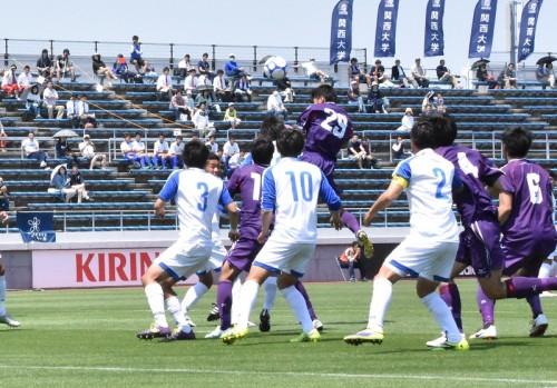 ●関西大、諸石健太のゴールで先制も痛恨ドロー…開幕4試合勝利なし