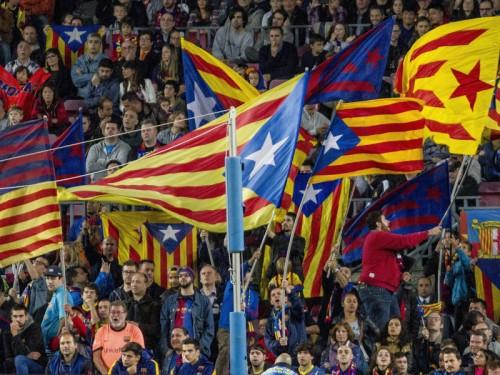 国王杯決勝、カタルーニャ独立象徴旗が持込可能に…バルサは「歓迎」と声明