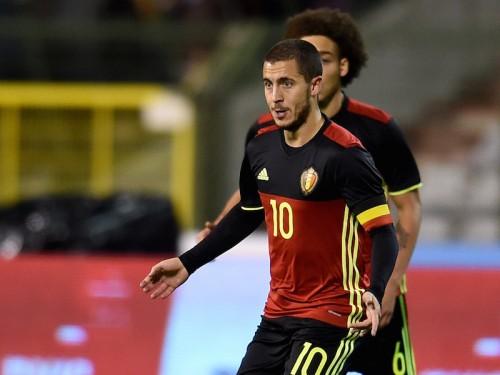 ユーロで活躍誓うベルギー代表MFアザール「悪いシーズンを忘れられる」