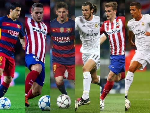 UEFAがCLのベスト18選手を発表…スペイン3強から15名選出