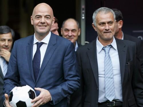改革推進へ…FIFA会長、モウリーニョ氏をメキシコ開催の会議に招待