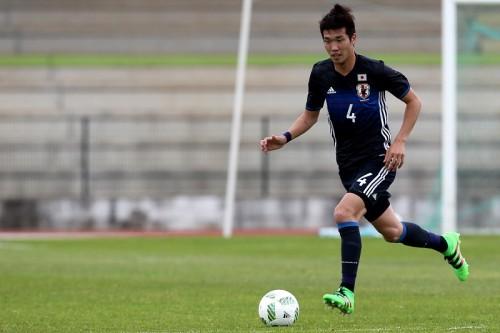 U-23日本代表DF岩波、全治6週間と診断…トゥーロン初戦で負傷交代