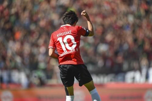 清武の今季5点目が決勝ゴールに…ハノーファー、今季ホーム最終戦を白星で飾る