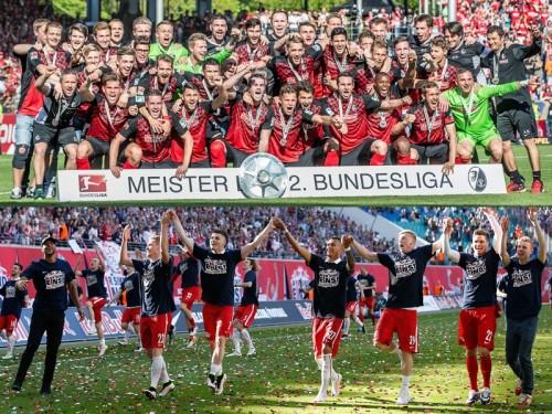 ●フライブルクが優勝、ライプツィヒは創立7季目で初の昇格/ブンデス2部