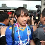 Leicester City Arrive in Bangkok for the Post-Season Tour