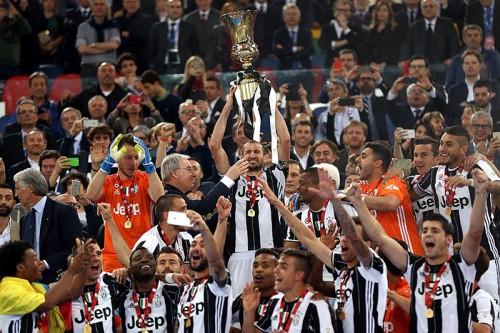 ユーヴェ、イタリア杯制覇で2冠達成…モラタ弾で本田フル出場のミラン下す