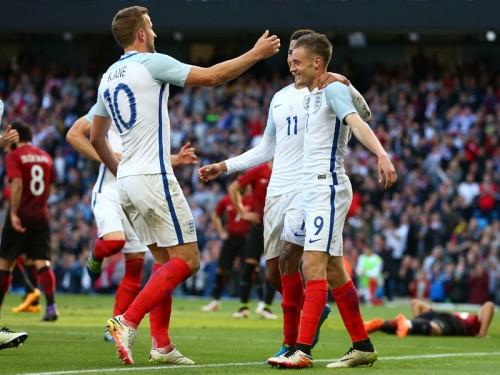 ヴァーディが決勝弾…ユーロ前の親善試合、イングランドがトルコ撃破