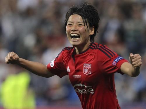 なでしこ熊谷が女子CL決勝のMVPに選出…欧州制覇で「幸せでいっぱい」