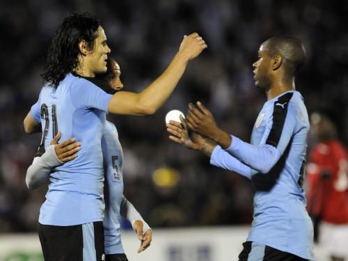 カバーニが2ゴールでウルグアイ勝利、チリはジャマイカに敗れる/国際親善試合