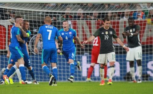 ユーロ優勝候補のドイツ、スロヴァキアに3失点逆転負け…開幕前に不安