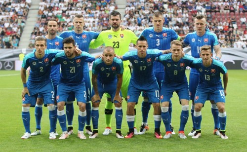 スロヴァキア代表メンバー23名にハムシクら…グループではイングランドと同組