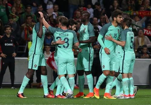 C・ロナ不在のポルトガルが3発快勝…ウクライナは4ゴールで打ち合い制す/国際親善試合