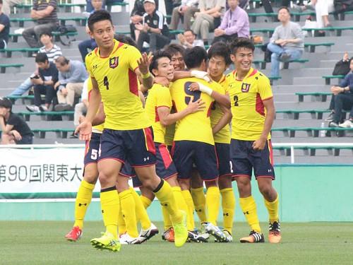 今年最初の早慶戦、慶應義塾大に軍配…田中健太の2ゴールで早稲田大に勝利