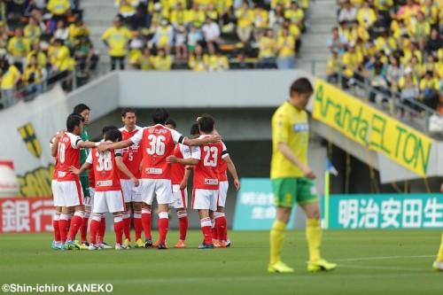熊本、約1カ月ぶりの再開初戦で白星ならず…千葉が6試合ぶりの勝利