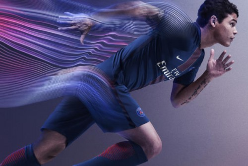 PSGが2016-17シーズンの新ユニフォームを発表…中央には赤いピンストライプを採用