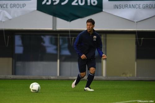 U23代表のMF野津田、ガーナ戦でゴール奪取へ「どこからでも狙っていきたい」