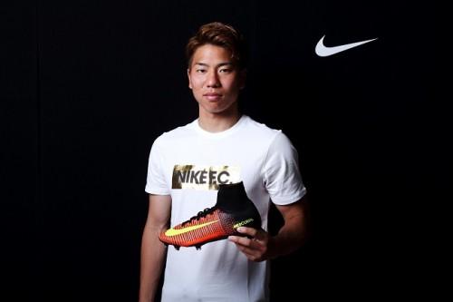 「ゴールという結果でアピールしたい」…広島FW浅野拓磨が新スパイクでリオに挑む