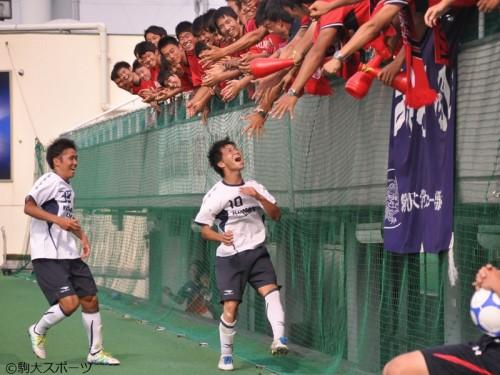 星キョーワァンが大学公式戦初ゴール…駒澤大、後半の2発で早稲田大に逆転勝利
