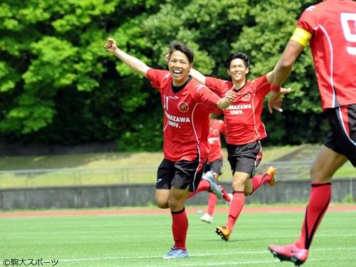 駒澤大、国士舘大に3発快勝…3試合ぶりの勝利で弾みをつける