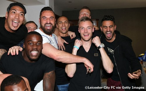 'Jamie Vardy's Having a Party' - Leicester City Players Gather at Jamie Vardy's House to Watch Title Rivals