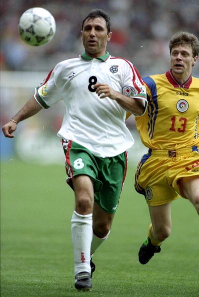 Hristo Stoichkov of Bulgaria