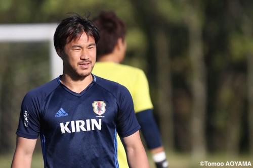 欧州相手に通算50得点到達へ…岡崎「日本代表にいた記録を残したい」