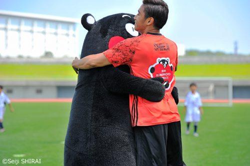 ●香川がくまモンのゴールをお膳立て…兵庫で自身主催のサッカーイベント開催