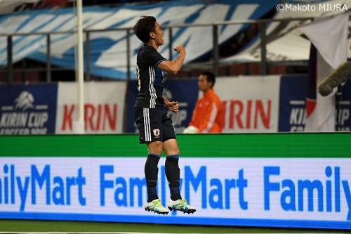【動画】岡崎、香川、吉田、宇佐美、浅野がゴール…日本がブルガリアに大量7ゴールを奪いキリンカップ決勝進出